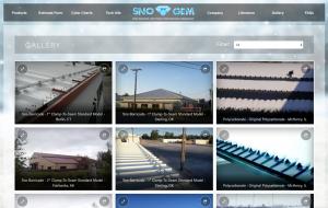 Sno Gem Gallery Screenshot